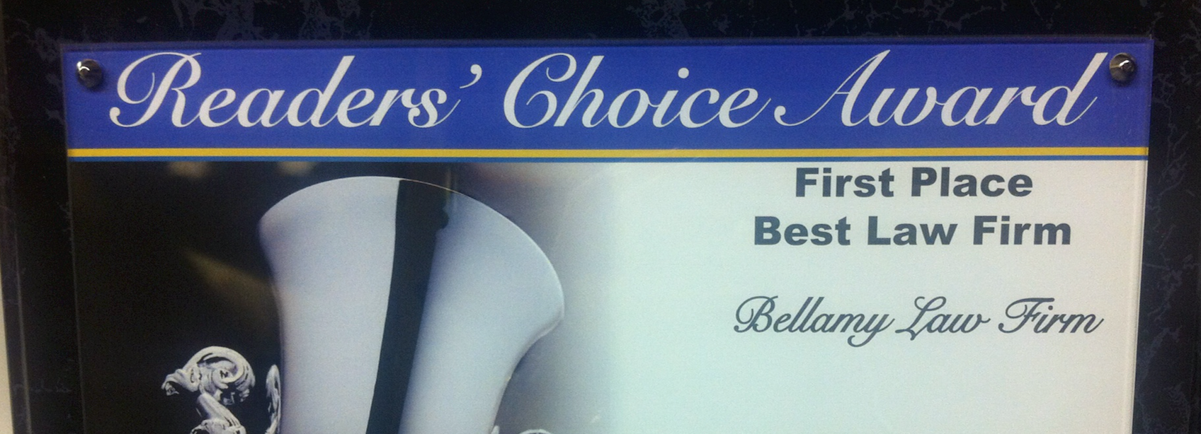 The Bellamy Law Firm voted the Best Law Firm in Myrtle Beach